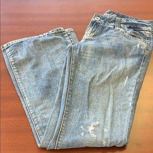American Eagle, favorite boyfriend jeans